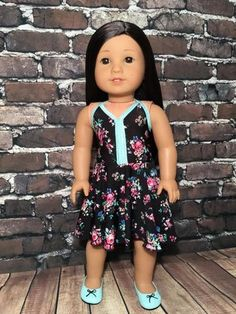 Looking for the perfect summer dress for yourdoll? Find out how to make it with this clever pattern hack from Marilyn ofQTπ Doll Clothing! Giveaway Update: