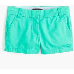 "J.Crew 3"" Chino Short (1,660 PHP) ❤ liked on Polyvore featuring shorts, short shorts, chino shorts, j. crew shorts, short chino shorts and zipper shorts"