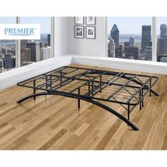 Dome Arch Silver California King Metal Platform Bed Frame And