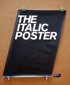 Nice slant on a poster....