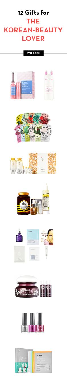 Perfect gifts for the Korean-beauty lover in your life