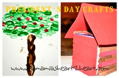 President's Day Crafts with your toddler