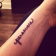 Perseverance Tattoo pe Pinterest | Shakespeare Tattoo