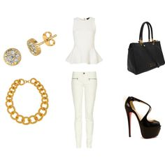 Daytime outfit perfection... #style #gold