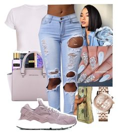 """""""Untitled✨"""" by bow-girl531 ❤ liked on Polyvore featuring Casetify, Victoria's Secret, Michael Kors, MICHAEL Michael Kors and NIKE"""
