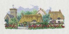 Poppyfield Lane by Derwentwater Designs (1 of 10), counted cross stitch kit