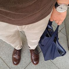 2016/08/04 13:51:26 nemo_hiro.16 今日の装い❗️ お暑うございます 今日はレザーの一式。 ♪ #poloshirts#johnsmedley #trousers#incotex #shoes#alden#cordovan#vtip #totebag#cinquanta #watch#iwc#iwcportuguese #ジョンスメドレー#インコテックス#オールデン#コードバン#チンクワンタ #ootdmen#ootd#outfit#coordinate#daylook#mensfashion#menstreetstyle#mensstyle#mensclothing#fashiongram