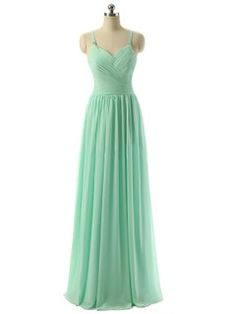 V-neck Chiffon Floor-length Ruched Lace-up Discount Bridesmaid Dresses - dressesofgirl.com