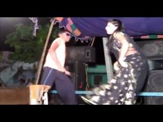Girl dance in saree from srikakulam Villege Recording Dance on stage