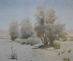 James Swinnerton Desert Smoke Trees