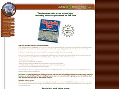 ① Make Money Teaching. - http://www.vnulab.be/lab-review/%e2%91%a0-make-money-teaching