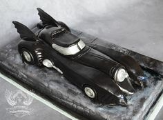 You have to see Batmobile Cake on Craftsy! - Looking for cake decorating project inspiration? Check out Batmobile Cake by member artisancakes. - via @Craftsy