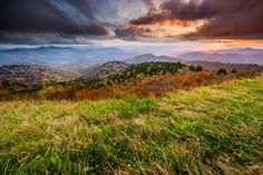 6. If you're looking for 'the' place to catch a sunset on the Blue Ridge, look no further than Cowee Mountains Overlook at milepost 430.