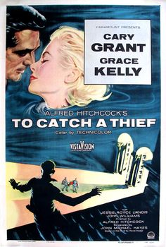 carry grant  to catch a theif poster | CARY GRANT TO CATCH A THIEF POSTER - See the best of PHOTOS of the ...