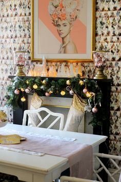 swoon-worthy-christmas-dining-room-blush-pink-gold-black-21