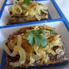 Pepper-Crusted Mini Meat Loaves Allrecipes.com