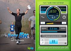 Best apps for beginning runners- Easy 5K With Jeff Galloway: Going for a Couch to 5K? Let Easy 5K With Jeff Galloway ($4) help you out! Not only does it come up with a training plan, this app has an amazing beat-sync technology that speeds up your favorite tunes to keep you going on your workout.