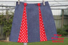 The Peggy Skirt - Tutorial. I want someone to make this for me!