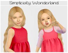 Simpliciaty-cc Wonderland hair edit at Simiracle • Sims 4 Updates