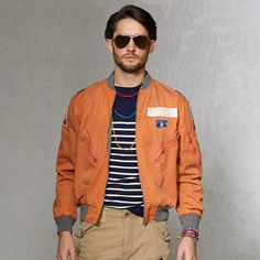 Reversible Flight Jacket - Enhanced Zoom
