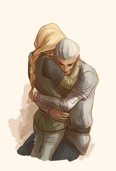 """Why?""  ""Because I said so, that's why.""   (Heir of Fire) - Rowan and Aelin   by taratjah"