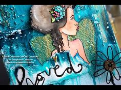 """toile """"you are loved"""" canvas"""