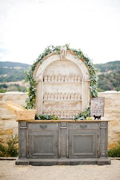 Photography: Megan Welker Photography - www.meganwelker.com Read More: http://www.stylemepretty.com/2015/01/29/something-blue-fall-winery-wedding/