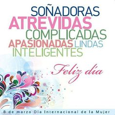 Happy Woman Day, Happy Women, Happy Day, Spanish Quotes, English Quotes, Birthday Cards, Happy Birthday, Mothers Day Quotes, Good Morning Good Night