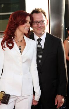 My favorite real life Hollywood couple, Carrie Preston (True Blood) and Michael Emerson (Lost)