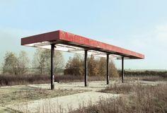 Éric Tabuchi, Abandonned Gasoline Station ©