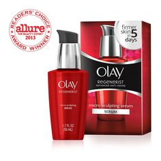 Use Olay Regenerist Micro-Sculpting Anti-Wrinkle Serum to reduce wrinkles and fine lines for younger looking skin. Learn more at Olay.com.