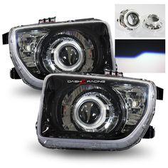 03-06 Honda Element RETRO-Fit Projector Headlights - Black/Chrome