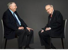 Warren Buffett with Charlie Munger