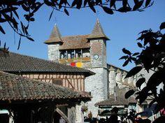 Villeréal ©CDT47 Dordogne, Big Ben, Cathedral, Mansions, House Styles, Building, Travel, Places, Photos