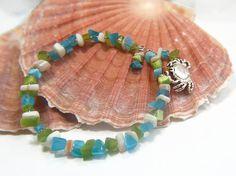 beach jewelry beach boho beach chic beach by LovesShellsBeads