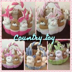 Country toy Bebe Baby, Baby Showers, Felt, Country, Toys, Children, Ideas, Diy And Crafts, Hampers