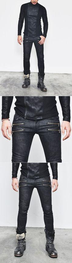 Newly black design skinny