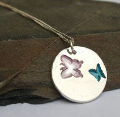 Handcrafted Fine Silver Coloured Butterlies by ASilverDream, £24.99