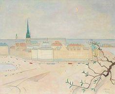 Einar Jolin, View Over Stockholm