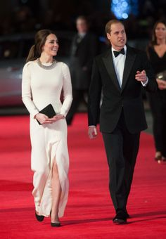 Duchess Catherine and Prince William attend the British premiere of Mandela: A Long Walk to Freedom 12/5/2013