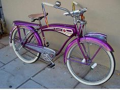 1950 FIRESTONE MONARK SUPER DELUXE TANK BICYCLE SCHWINN PHANTOM