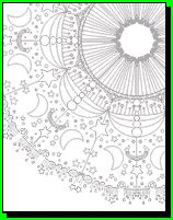 mandala coloring pages - perfect for my adults with Autism that need sensory from coloring Abstract Coloring Pages, Mandala Coloring Pages, Free Coloring Pages, Printable Coloring, Coloring Sheets, Coloring Books, Fairy Coloring, Sun And Moon Mandala, To Color