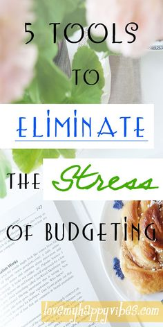 Eliminate the Stress of Budgeting~ 5 budgeting tools which I use on a regular basis to keep my finances organized. As with any goal, you must begin somewhere. In order to complete the full budgeting task ahead of you, you'll need to break it into smaller, more manageable increments. That is what I've done here, and I think you are really going to find it helpful! Keep reading…