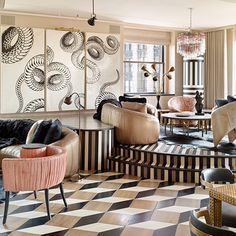 Maximalism According To Kelly Wearstler - The Style Guide From LuxDeco Kelly Wearstler, Top Interior Designers, Best Interior Design, Interior Design Inspiration, Design Ideas, Room Inspiration, Design Projects, Design Design, Interior Decorating