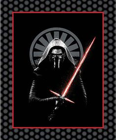 Star Wars™ Kylo Ren Quilt Kit. Project Rating: Easy (panel quilt). Ships 9/24/15; $39.99 #forcefriday