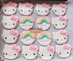 Small Small Baker: Happy Birthday Kids - Baked Donuts and Fondant ...