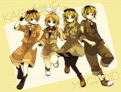 Len, Rin, GUMI & Gumiya