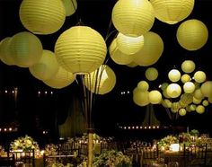 paper lantern centerpiece | ... our Wedding Decor Inspirations » Lanterns » Paper Lanterns Gallery