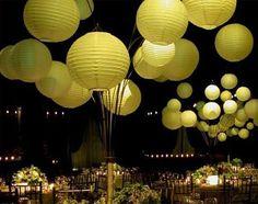 paper lantern centerpiece | ... our Wedding Decor Inspirations » Lanterns » Paper Lanterns Gallery