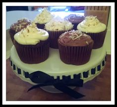Chocolate Italian Cream Cupcakes